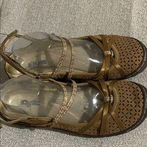 Jambu Shoes - Jambu JBU Brown Memory Foam Sport Sandal Excellent